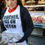 Les boucheries dérangées par des dizaines d'actions Antispécistes