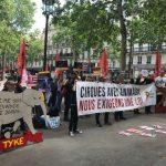 A Paris, un défilé d'animalliés contre les cirques esclavagistes